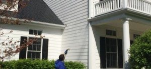 Power wash Residential House
