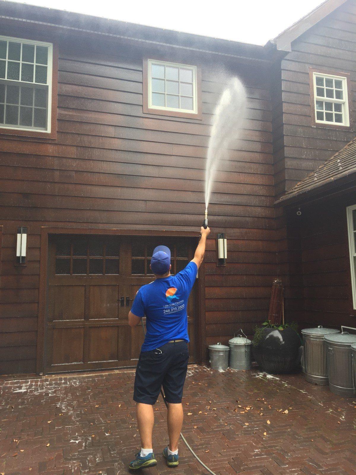 Soft Wash Siding Michigan S Best House Pressure Washing