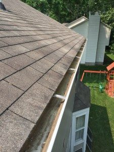 commercial gutter clean after e1456431252853