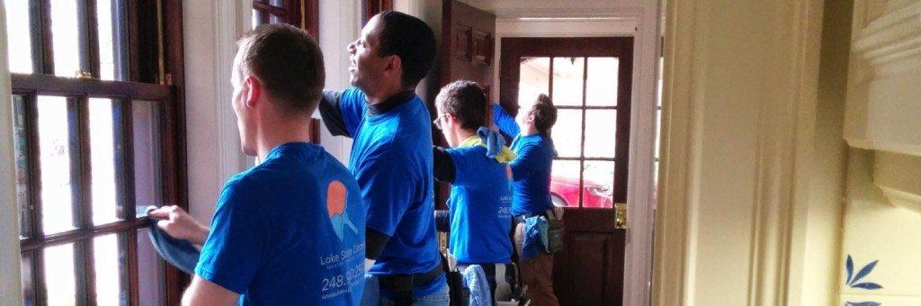 Rochester, MI's favorite window cleaning team.