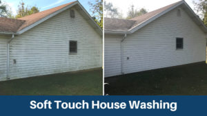 soft touch house washing troy mi
